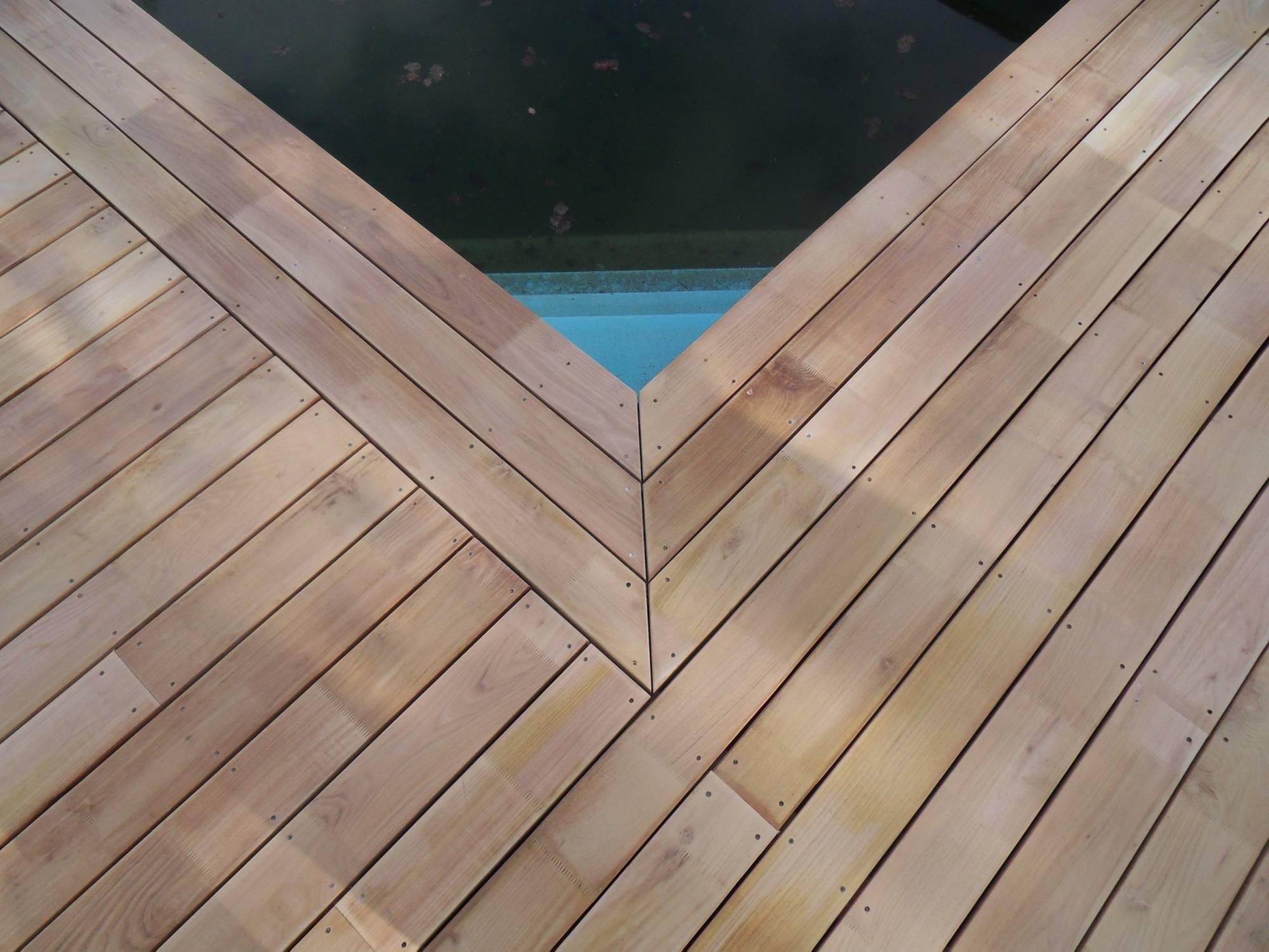 Lames De Terrasse Bois terrasse bois en lames d'acacia robinier - vente et pose de