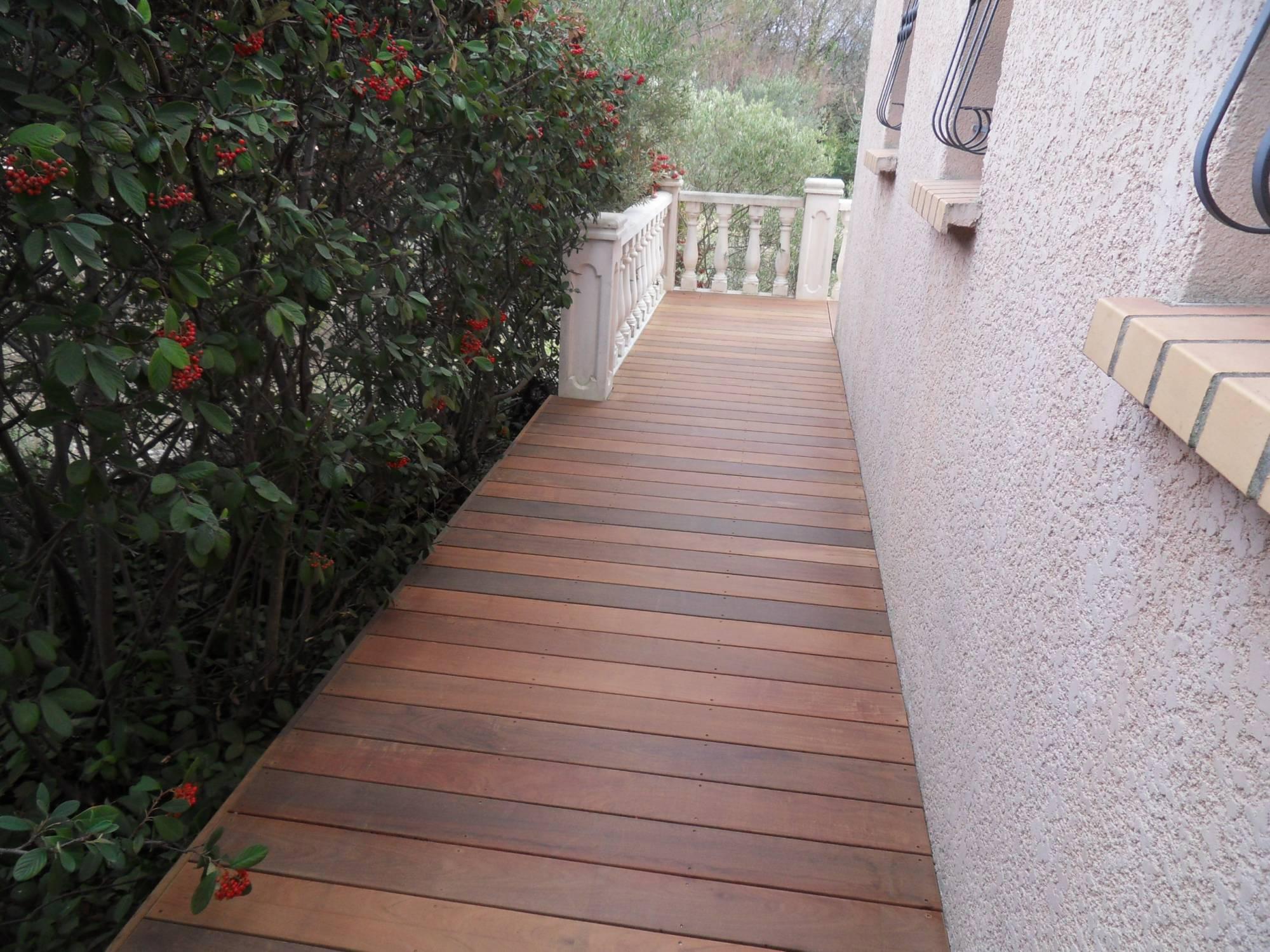 Vente Bois Pour Terrasse renovation terrasse carrelage en terrasse bois lame ipe a